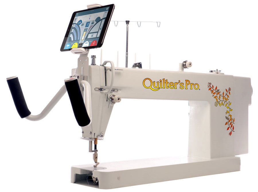 Quilter's Pro Long Arm Quilting Machine With Refurbished iPad Mini, and 1 Year Warranty