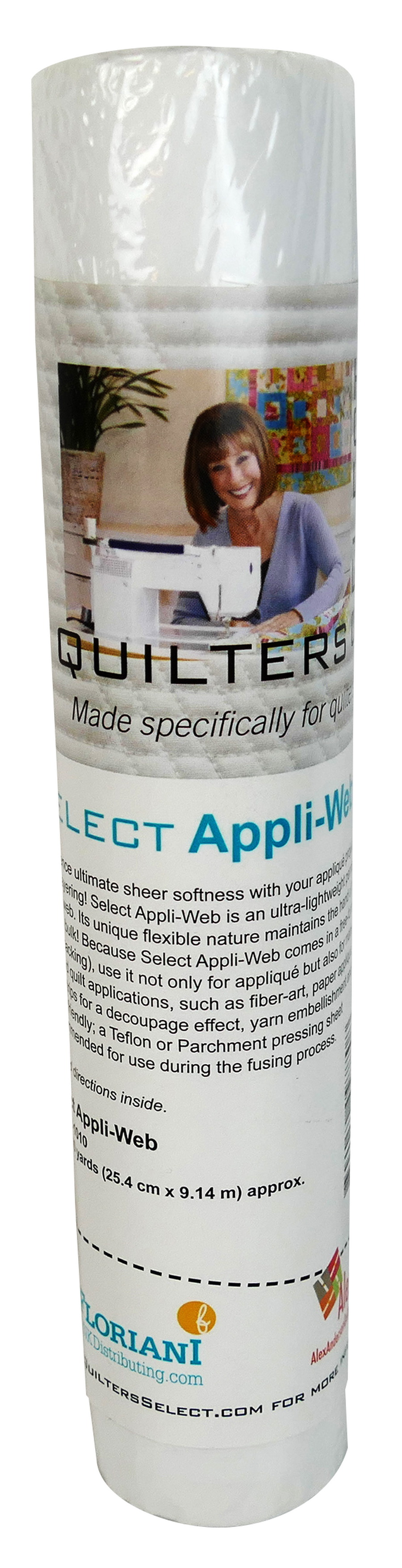"Quilters Select Appli-Web - 10"" x 10 yds"