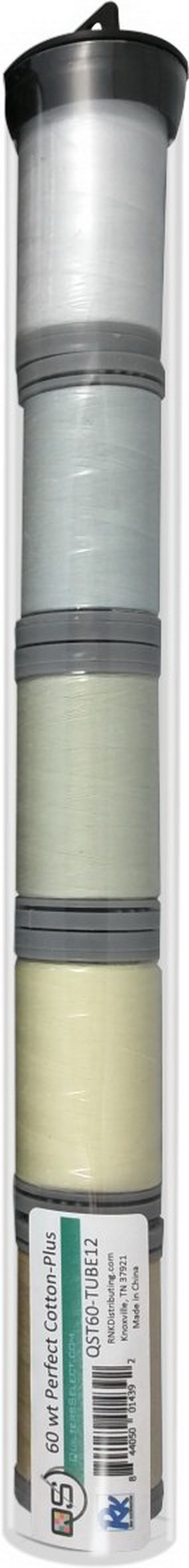 Quilters Select Perfect Cotton Plus Thread 60 Weight 400m Spools - Bundle Tube 12