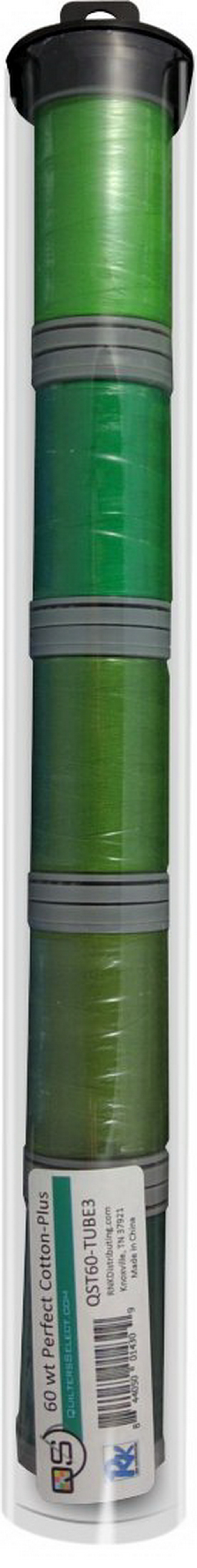 Quilters Select Perfect Cotton Plus Thread 60 Weight 400m Spools - Bundle Tube 3