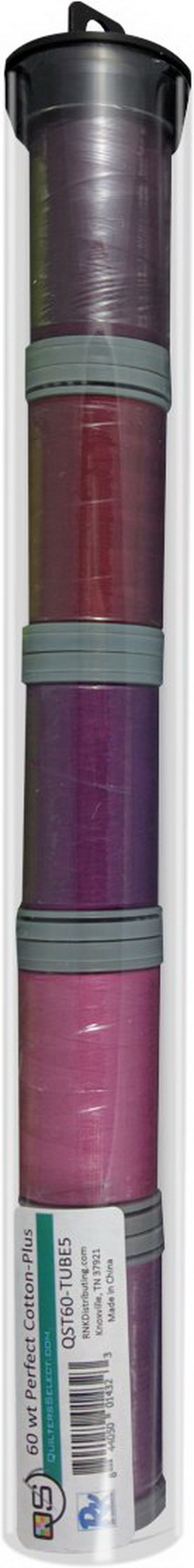 Quilters Select Perfect Cotton Plus Thread 60 Weight 400m Spools - Bundle Tube 5