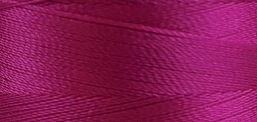 Quilters Select Para-Cotton Polyester Thread 80 Weight 400m Spool - Hot Pink
