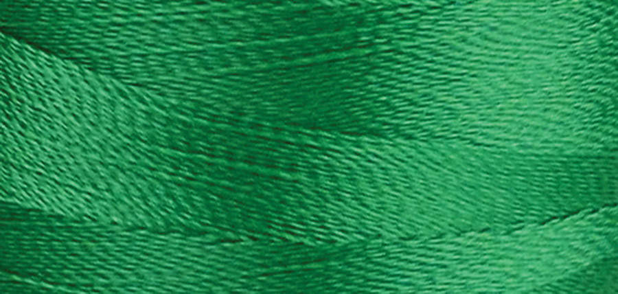 Quilters Select Para-Cotton Polyester Thread 80 Weight 400m Spool - Irish Green