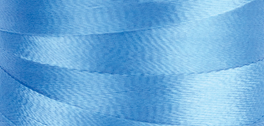 Quilters Select Para-Cotton Polyester Thread 80 Weight 400m Spool - Twinkle Blue
