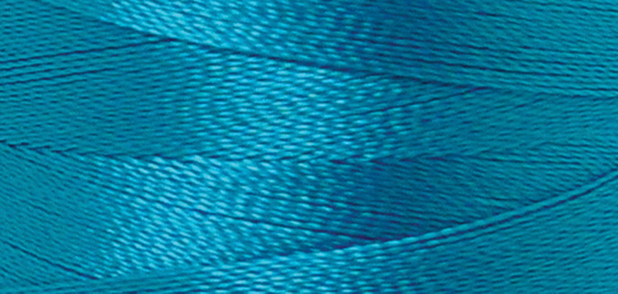 Quilters Select Para-Cotton Polyester Thread 80 Weight 400m Spool - Italian Blue