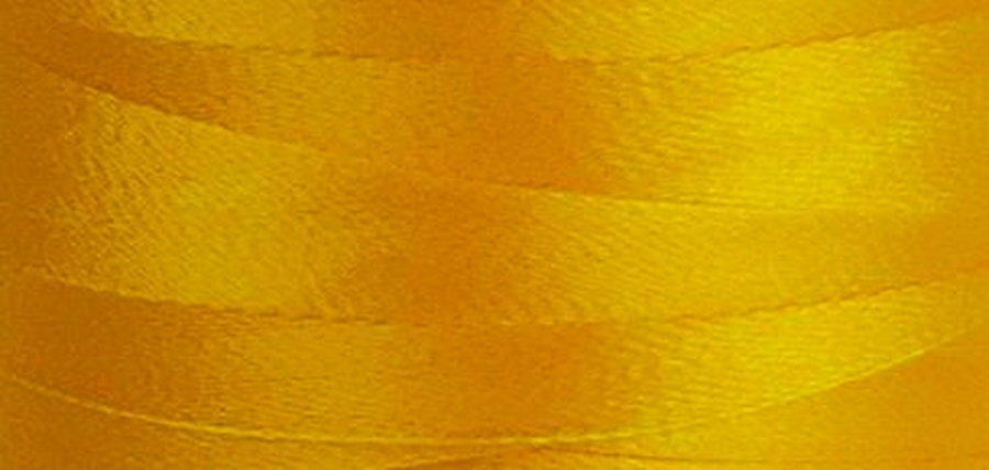 Quilters Select Para-Cotton Polyester Thread 80 Weight 400m Spool - Goldenrod
