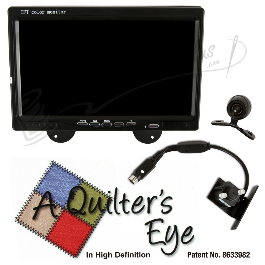 A Quilters Eye Camera Stitch and Pantograph System