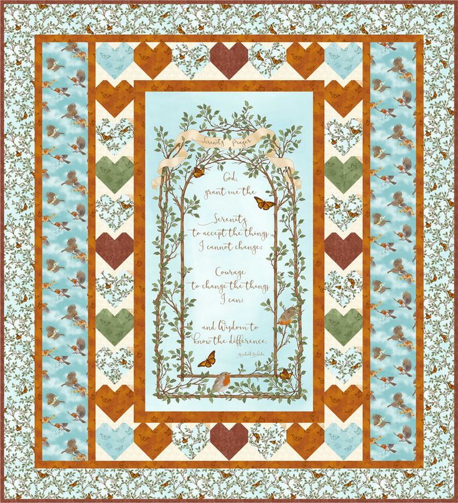 Quilting Treasures Serenity Prayer Kit