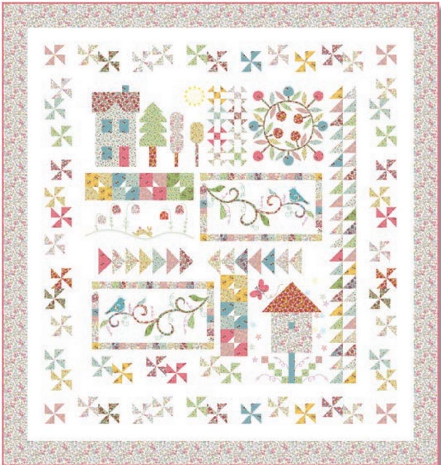 Treasures Spring on Bleecker Street Fabric Kit : quilting treasures patterns - Adamdwight.com