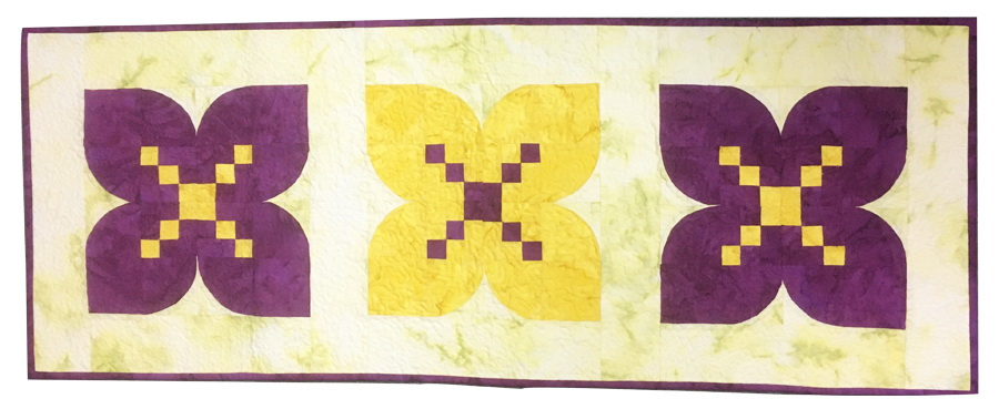 Ready To Sew Crocus Table Runner Quilt Kit