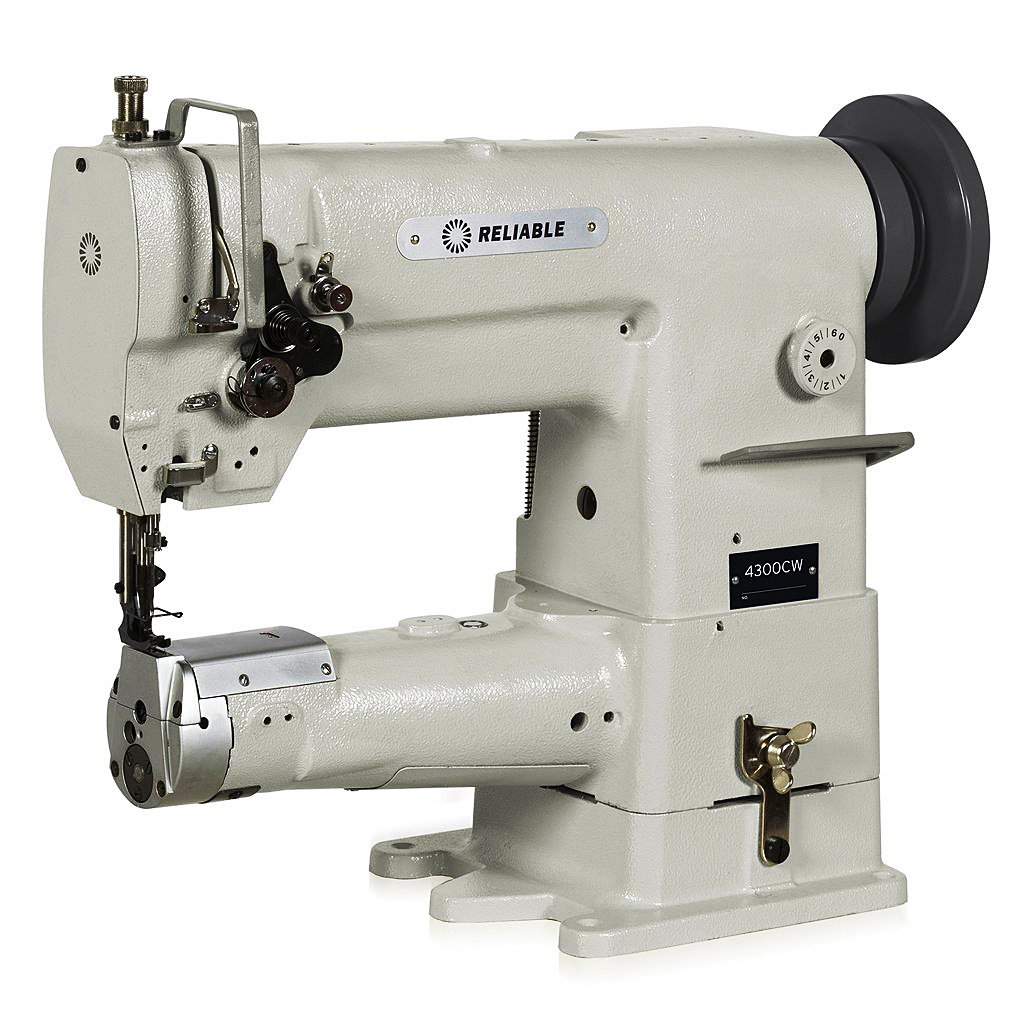 Reliable 4300CW Cylinder Bed Walking Foot Sewing Machine & FREE Lamp