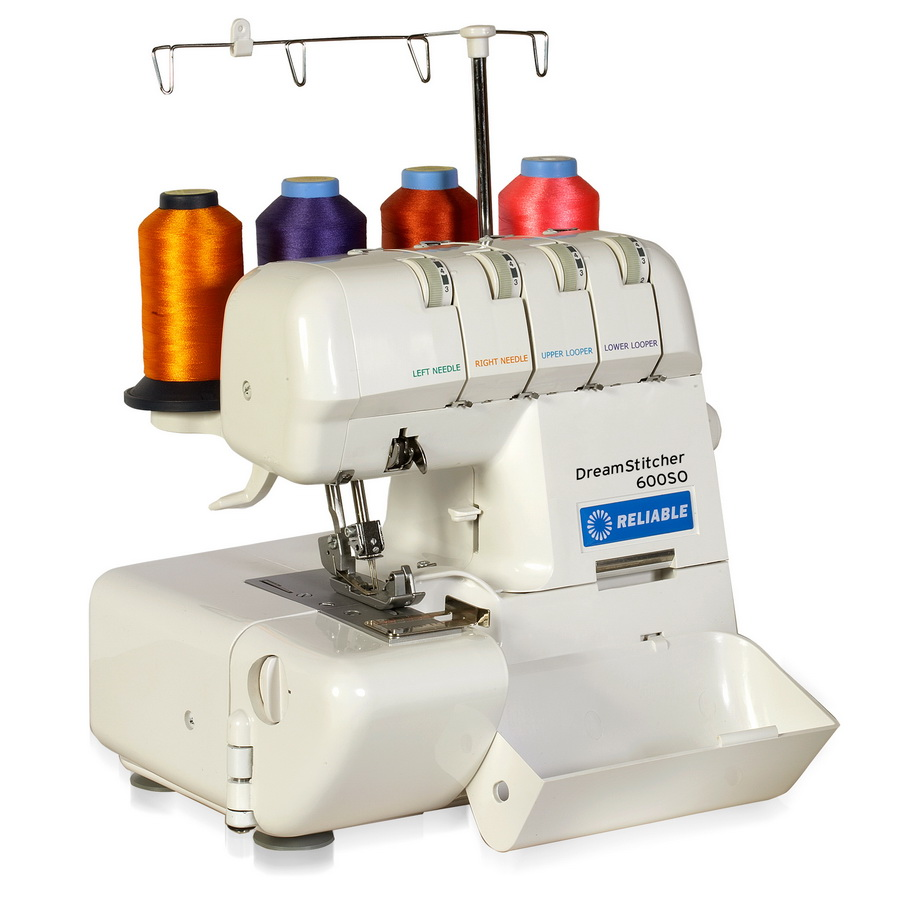 Reliable Dreamstitcher 600SO Portable 2/3/4 Thread Overlock Machine