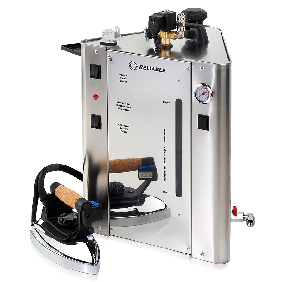 Reliable 7000IS Professional Stainless Steel One Iron Steam Boiler AND Iron