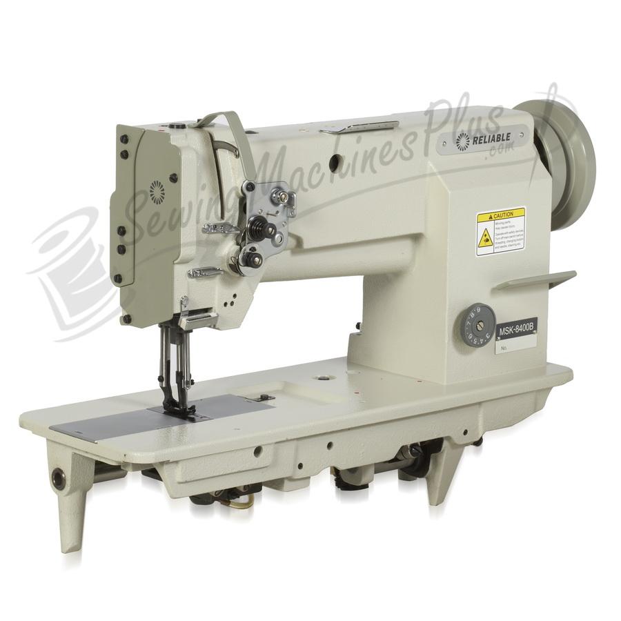 Reliable 4400SW Single Needle Walking Foot Machine w/ Table, Motor, & Light