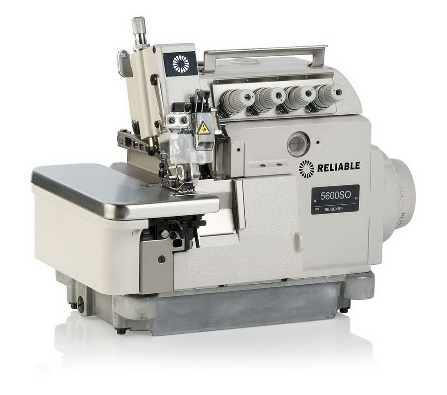 Reliable 5600SO Three-Five Thread High-Speed Safety Serger and Uberlight 3100TL Light Lamp Included