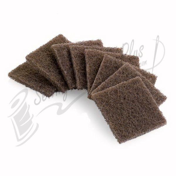 Reliable Abrasive Pad Set of 8 - Tan