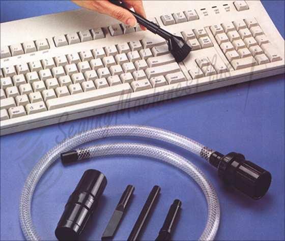 Micro Vacuum Attachments w/ Mini Clear Hose