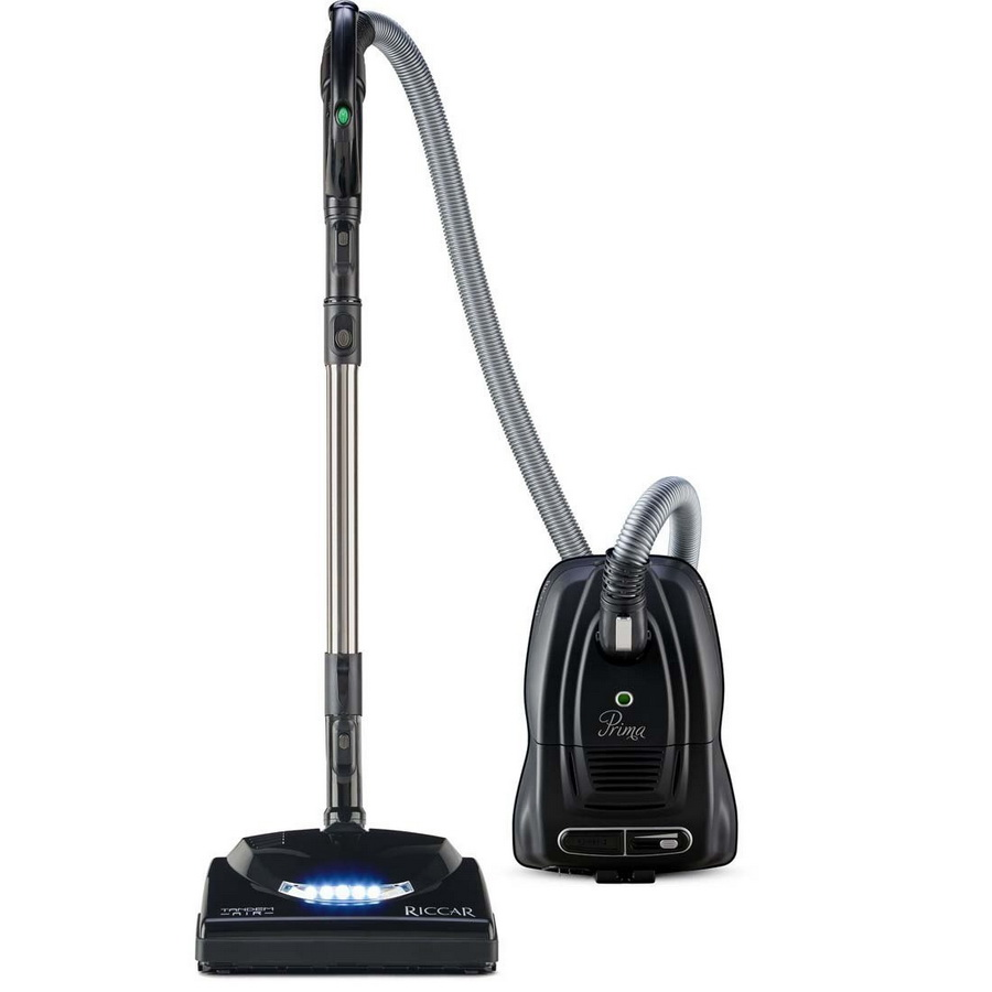 Riccar Prima Power Team with Tandem Air Nozzle Canister Vacuum