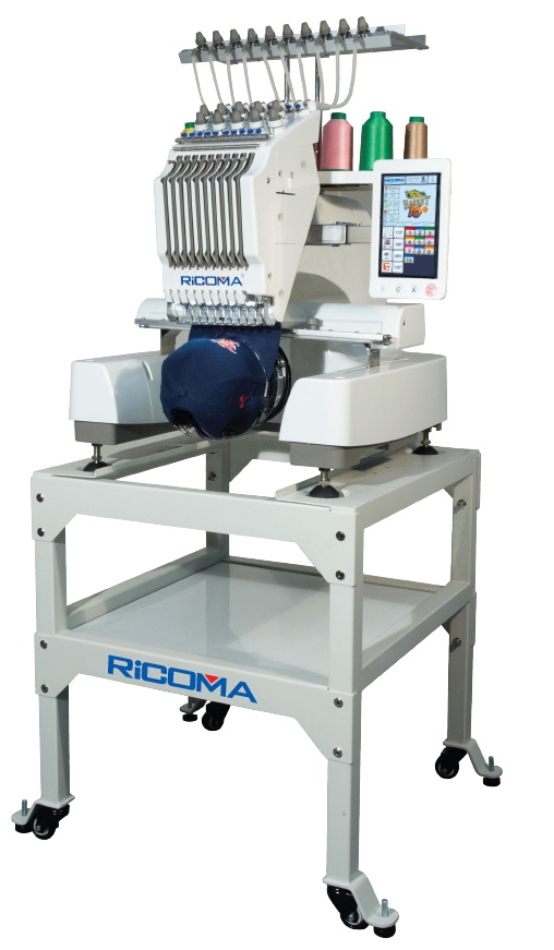 RiCOMA Embroidery Machine & Stand | RiCOMA EM-1010