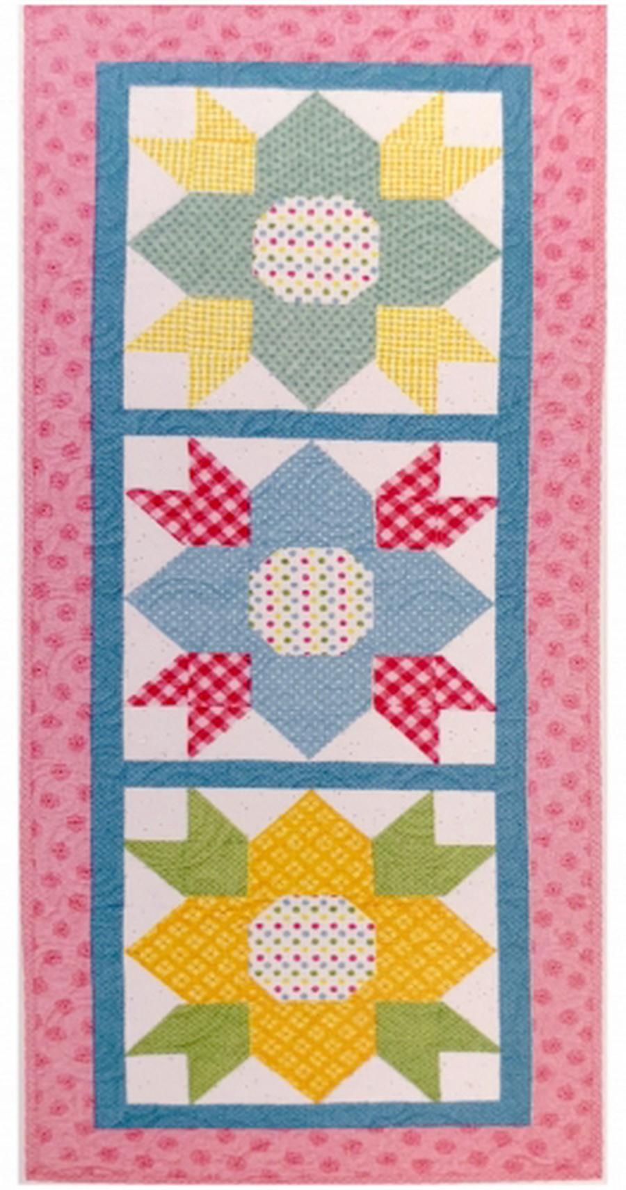 Riley Blake May Blossoms Table Runner Fabric Kit