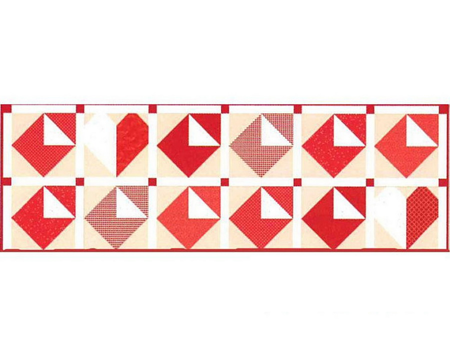 Riley Blake Table Runner of the Month: Love Notes