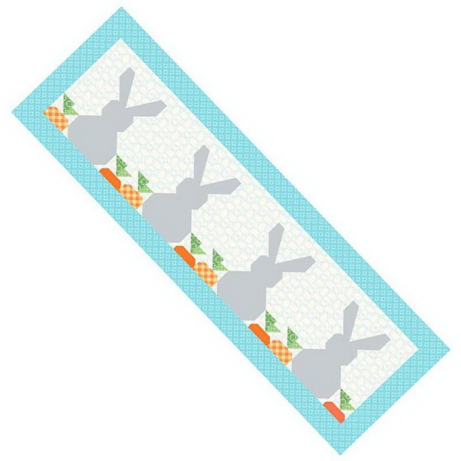 Riley Blake Table Runner Of The Month: Springtime Bunnies