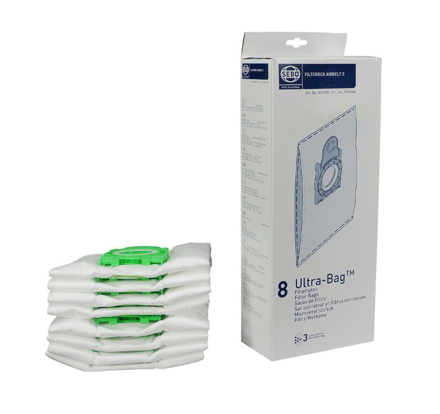 Sebo Filter Bag Box for Airbelt E Series Machines