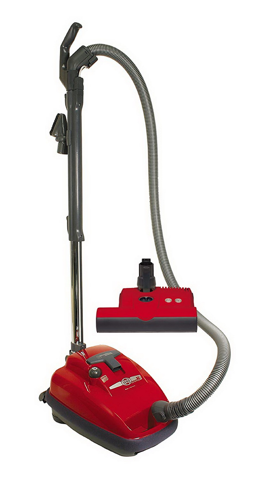 SEBO AIRBELT K3 Premium with ET-1 Power Head and parquet brush (Red or Black)