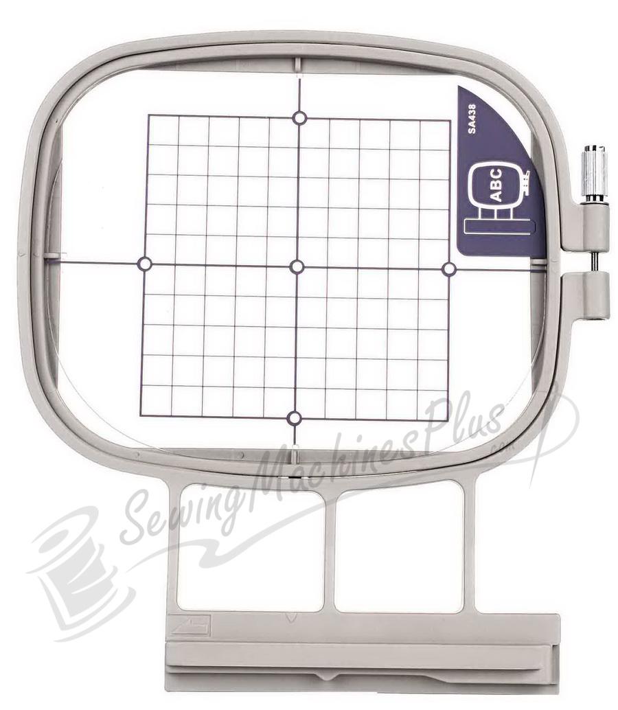 """Medium Embroidery Hoop 4"""" x 4"""" (100x100mm) Brother, Baby Lock (SA438) (EF74)"""