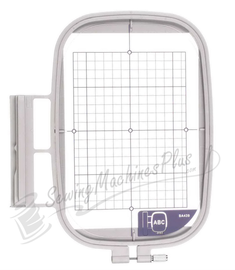 "Large Embroidery Hoop 5"" x 7"" (130x180mm)- Brother (SA439), Baby Lock (EF75)"