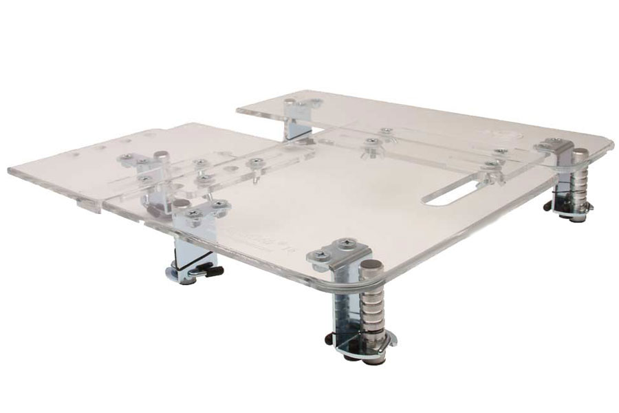Sew AdjusTable Compact 16 - 16 Inch x 16 Inch Universal Extension Table