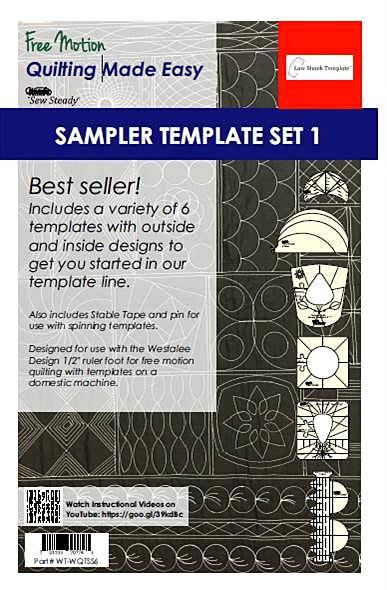Westalee Quilting Template 6 Piece Set