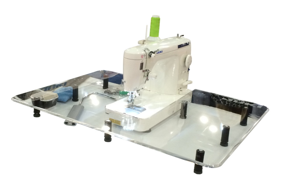"""Sew Steady Free Motion Table 24"""" x 32"""" - For Large Machines with Beds Longer than 13"""""""