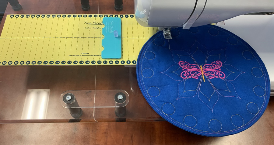 Sew Steady Universal Circles Guidelines and Straight Tools