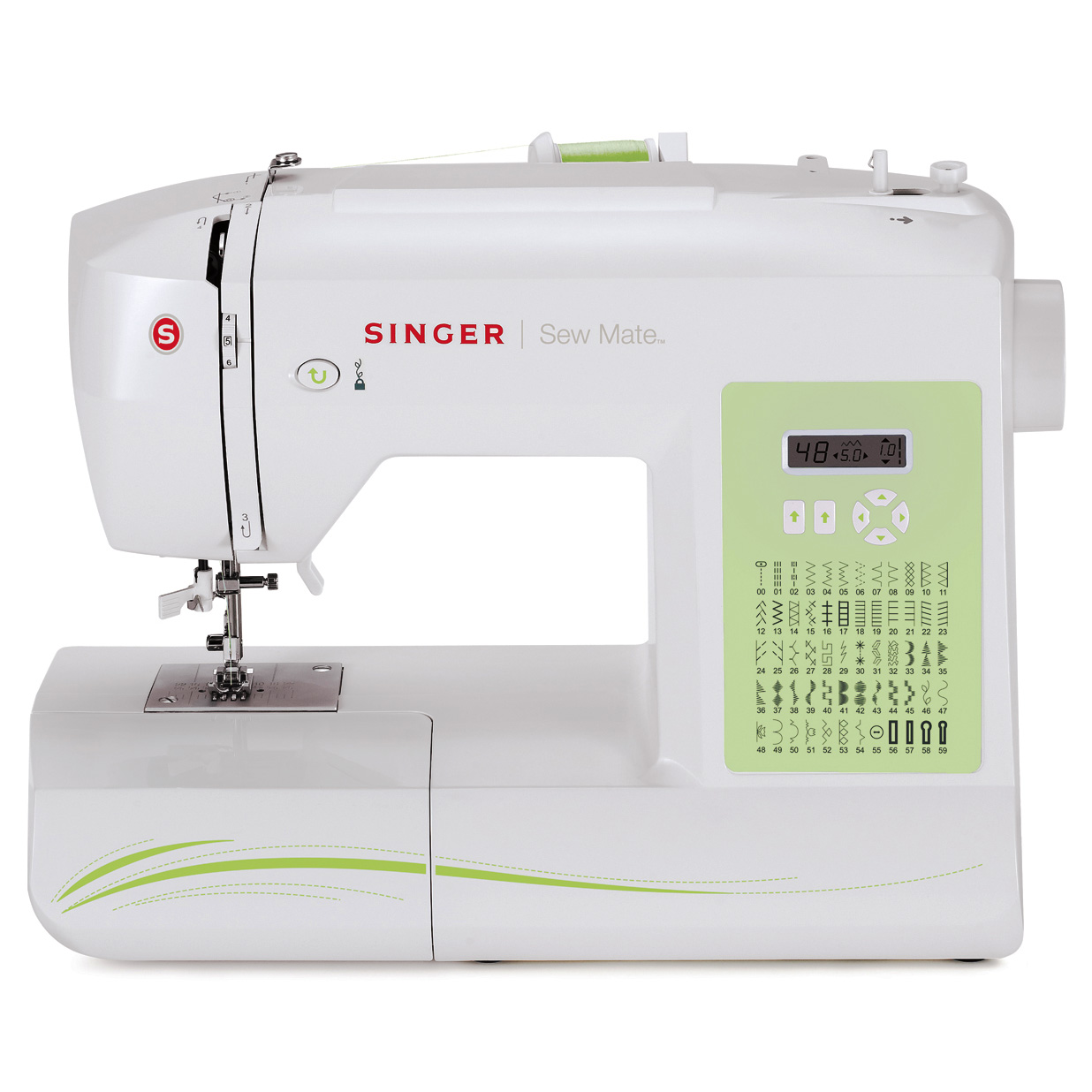Singer Sew Mate Sewing Machine (5400)