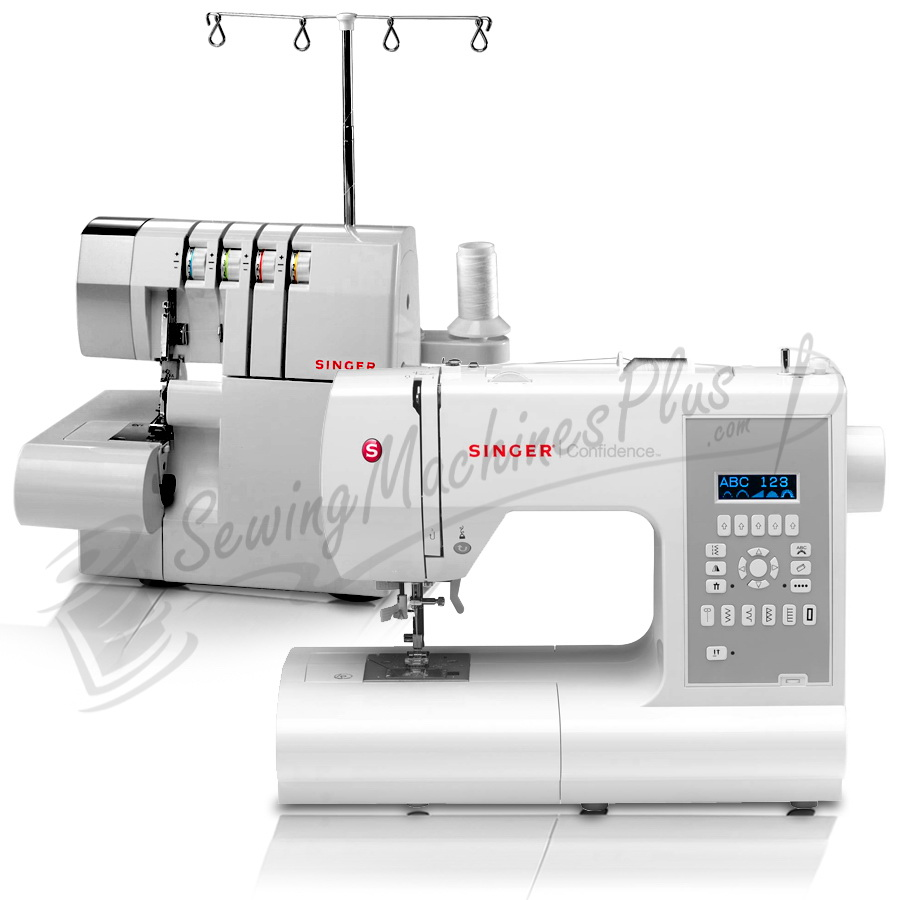 Singer 7470 Sewing Machine and 14CG754 Serger Combo