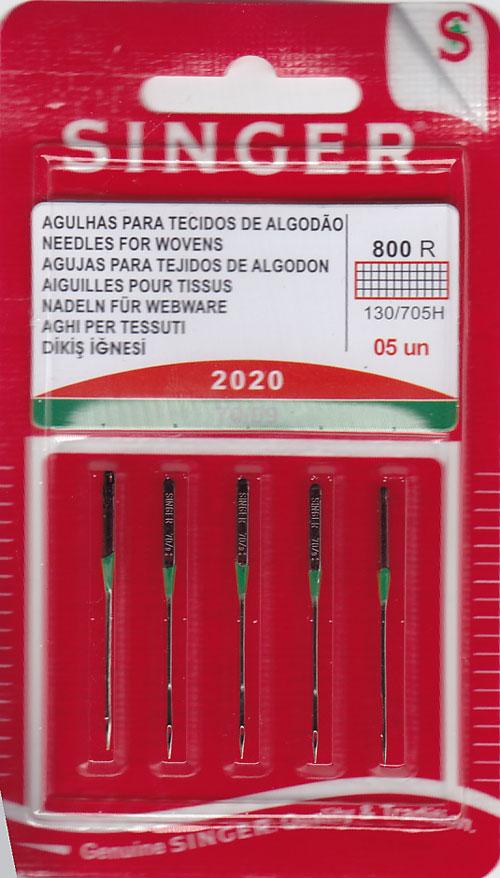 Singer Regular Point Needles - Size 9, 5pk