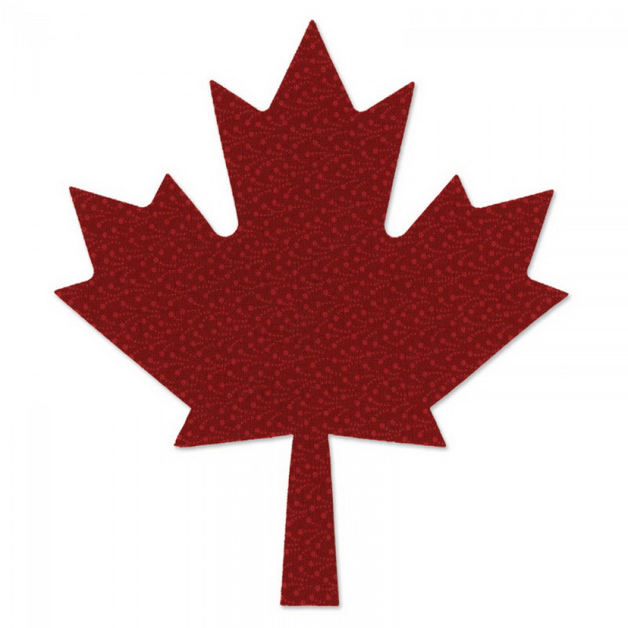 Sizzix Bigz Die - Leaf, Maple (M&G)
