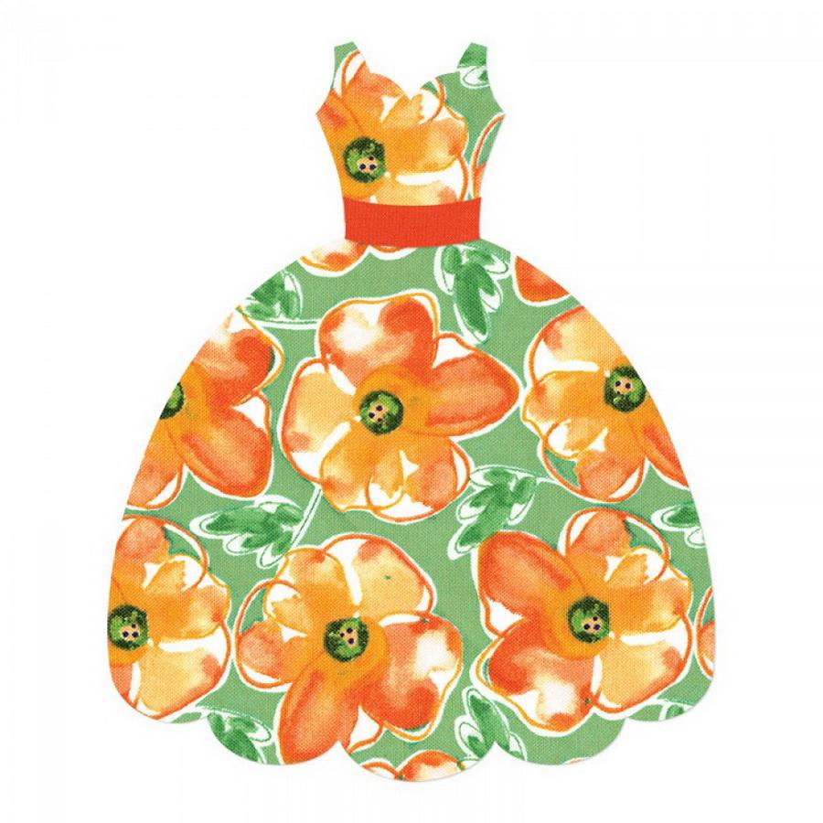 Sizzix Bigz L Die - Dress by Rachael Bright (M&G)