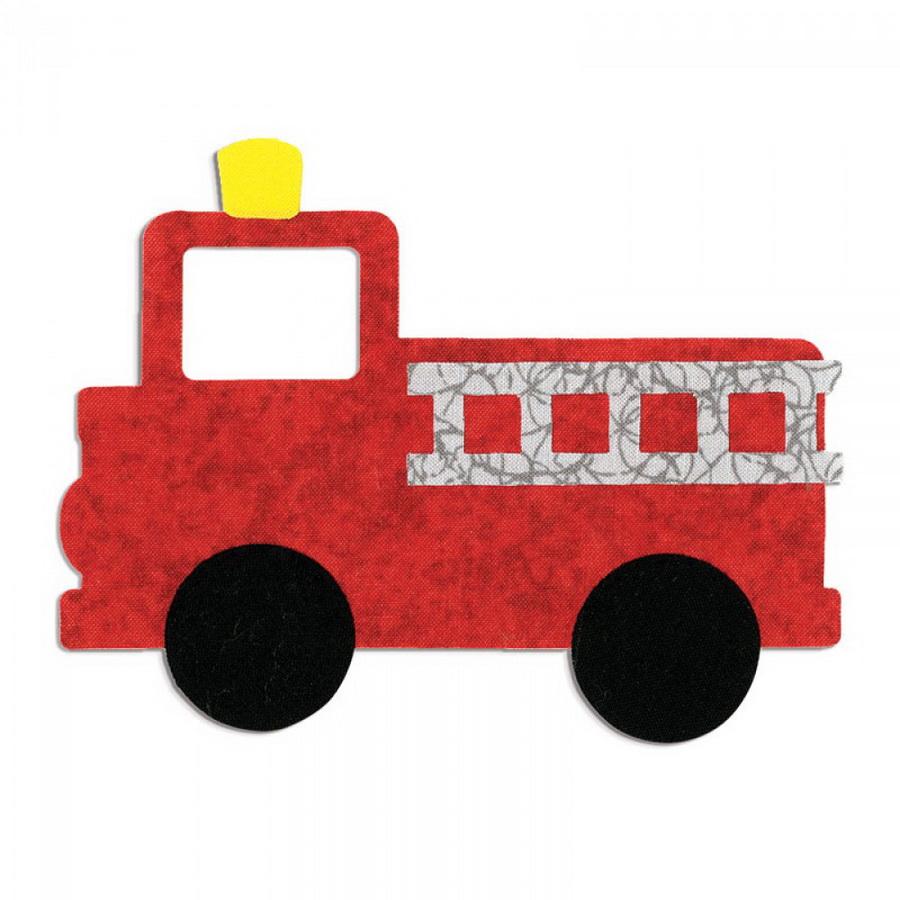 Sizzix Bigz L Die - Fire Truck by Rachael Bright (M&G)