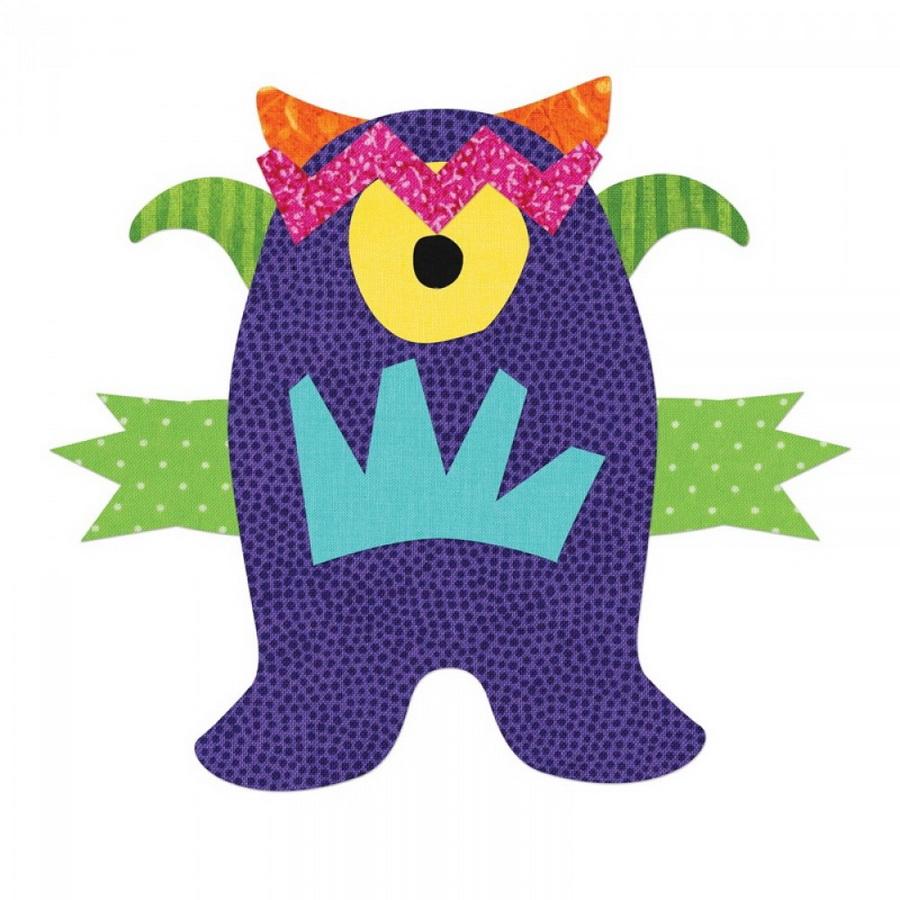 Sizzix Bigz Die - Monster by Lynda Kanase (M&G)