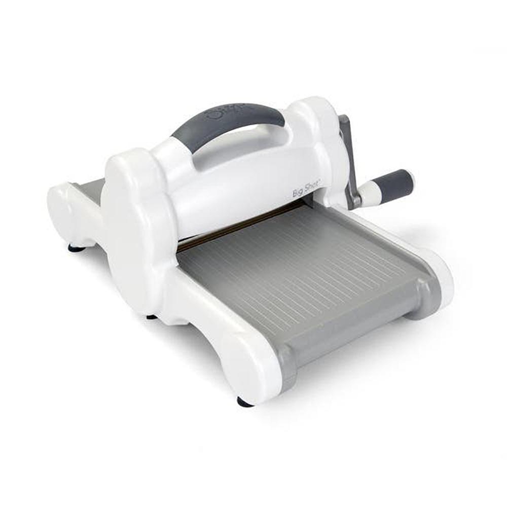 Sizzix Big Shot Machine Only (White & Gray) w/Standard Platform