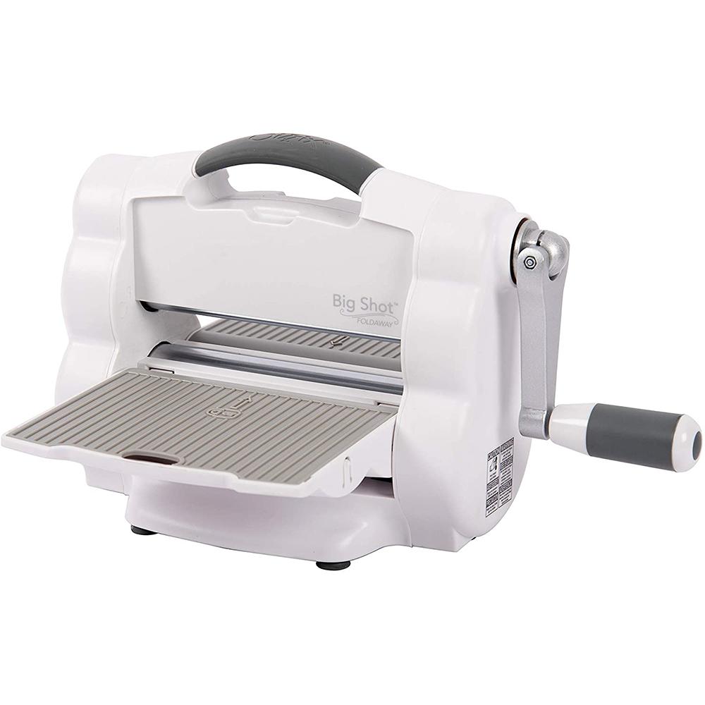 Sizzix Big Shot Foldaway Machine Only (White & Gray)