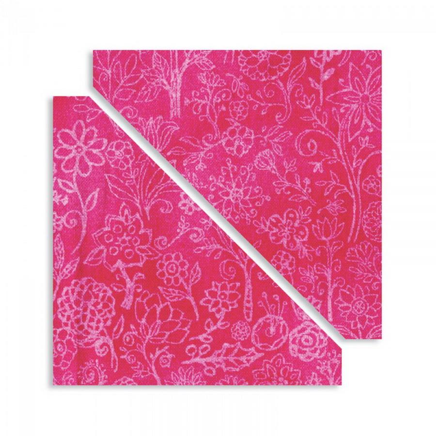 Sizzix Bigz Die - Half-Square Triangles, 3 inch Assembled Square