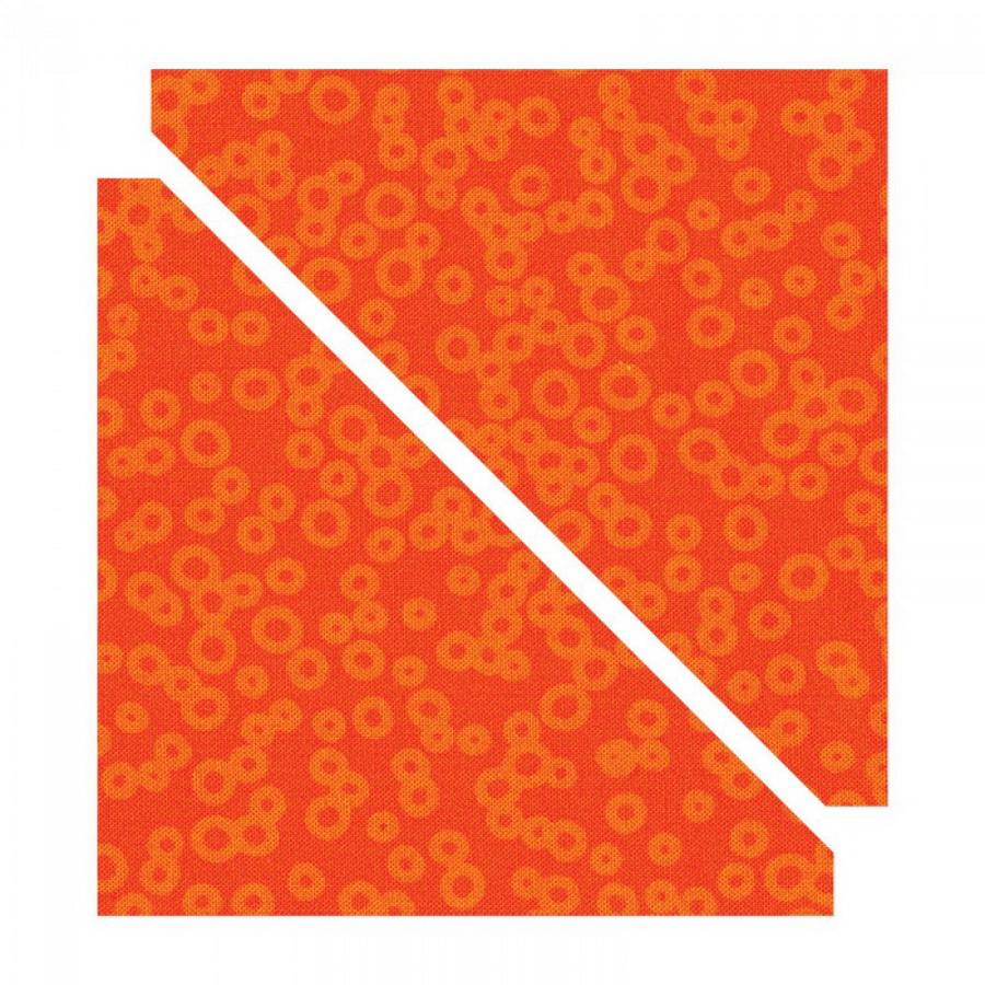 Sizzix Bigz Die - Half-Square Triangles, 4 1/2 inch Assembled Square
