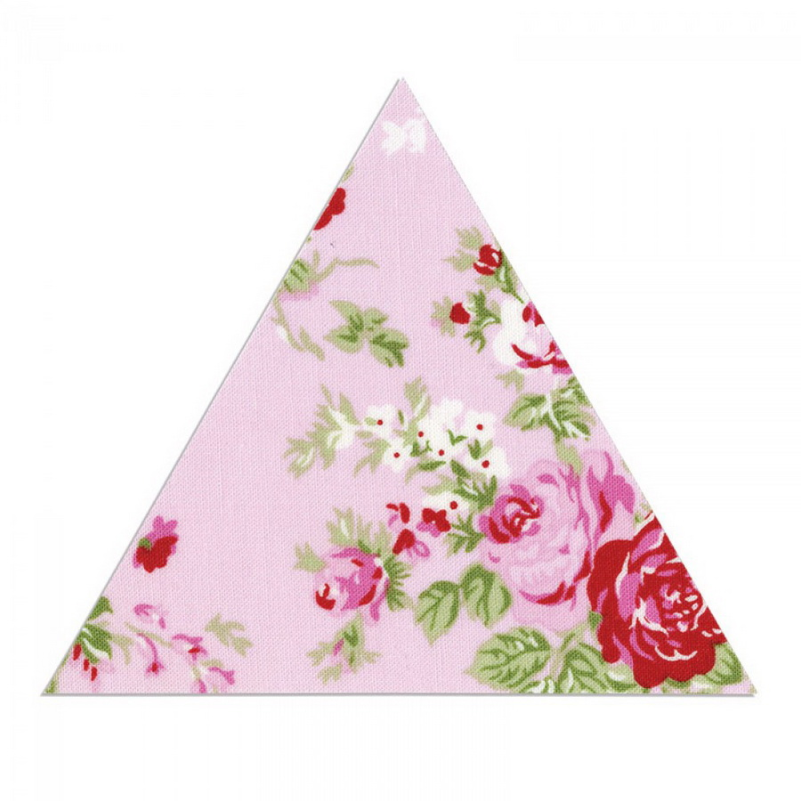 Sizzix Bigz L Die - Triangle, Equilateral 4 3/4 inch H x 5 1/2 inch W Unfinished