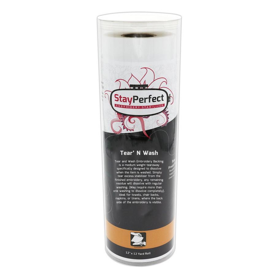 StayPerfect Tear N Wash Stabilizer - Tearaway
