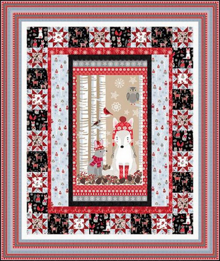 Studio E Fabrics Snow Delightful Kit