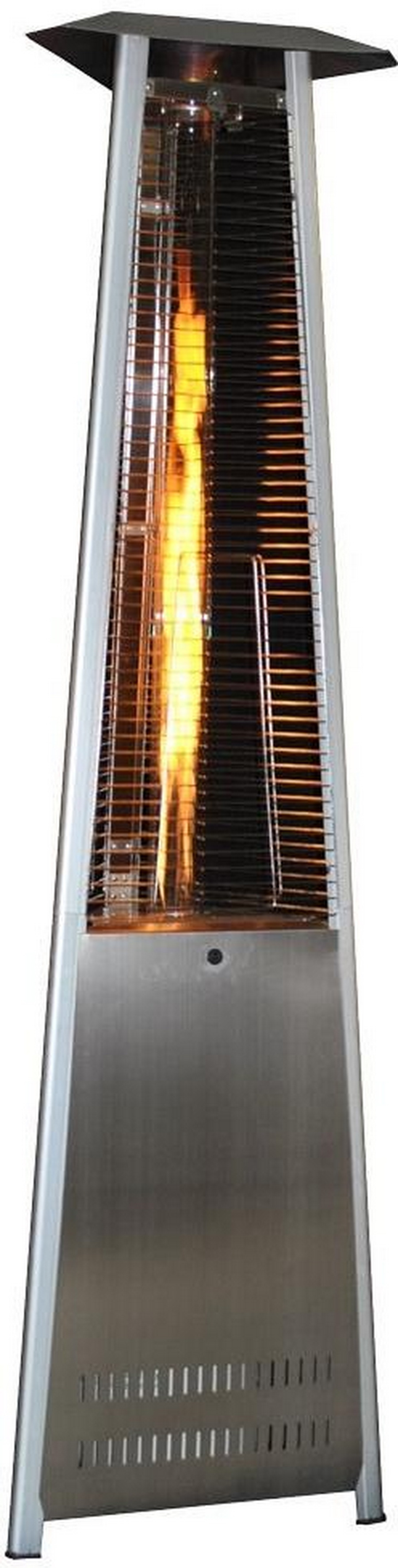 Sunheat Triangle Variable Flame Stainless Steel Patio Heater PHSQSS