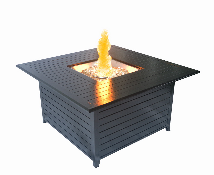 Sunheat Fire Pit - Black Hammered Finish